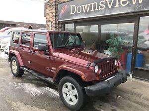 2007 Jeep Wrangler AUTO!!! FULLY LOADED!! 4x4!!! ALLOYS!!!