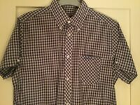 Ben Sherman checked shirt - New, Size Medium