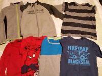 Bundle of boys clothes size 6-8 yeras
