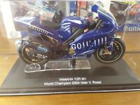 Valentino Rossi and Ducati scale race replica motorcycles