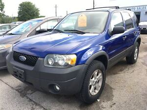 2006 Ford Escape XLT CALL 519 485 6050 CERTIFIED