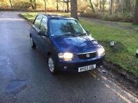 2003 Suzuki Alto 1,1 litre 5dr