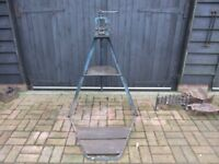 RECORD 92 PIPE VICE & STAND IS IN GOOD USED CONDITION READY TO USE £45