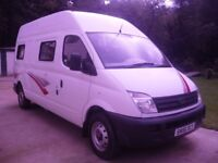 LDV MAXUS MOTORHOME CAMPERVAN 2006 WITH BRAND NEW AWNING