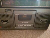 Radio cassete recorders