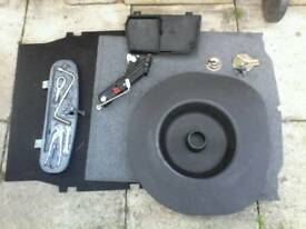 BMW 3 SERIES PARTS e46 98-05 / speakers , amp , subwoofer / spare wheel / cd changer