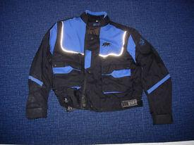 Buffalo mens mans weatherproof motorbike motorcycle jacket. Size 38-40 chest