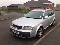 Audi A6 allroad estate silver 2004 reg auto