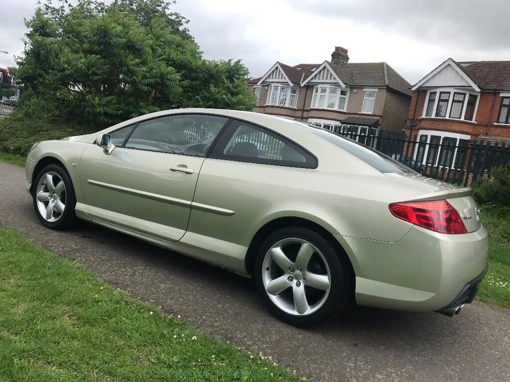 automatic peugeot 407 coupe 2 7 hdi v6 sport in barking. Black Bedroom Furniture Sets. Home Design Ideas
