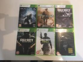 X-Box 360 Games for Sale (x6)