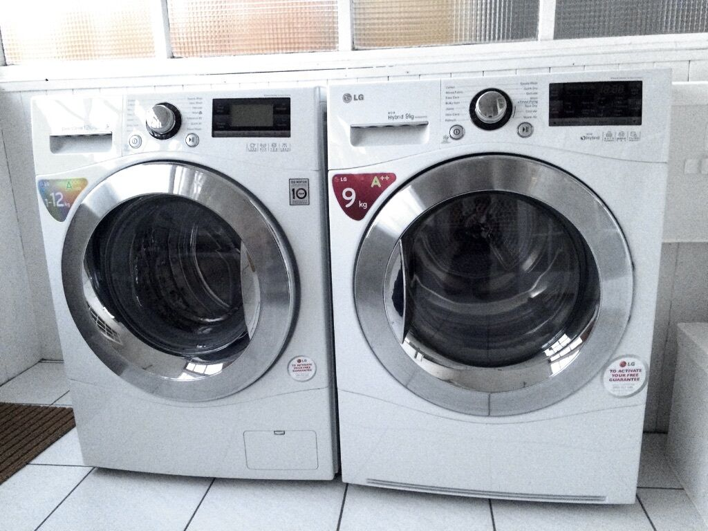Washing Machines And Dryers ~ Lg washing machine and tumble dryer matching set v good