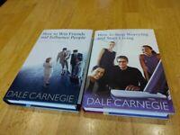 Dale Carnegie - Two Book Set - Brand New - Hardback Books - Superb Read
