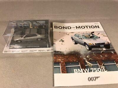 TOMORROW NEVER DIES BMW 750iL diecast 1/43 car + Magazine, James Bond, Eaglemoss