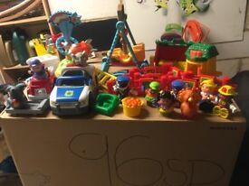 Bundle of happyland toys
