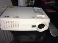 NEC Projector With remote.