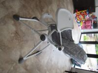 Chicco Pocket Meal Highchair, Light Grey Only £20 New £59.99