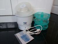 AVENT Naturally EXPRESS Baby Bottle Electric Steam Steriliser