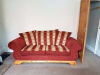 *free* Sofa and Matching Armchair