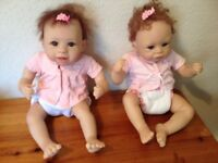 Twin Girl Dolls - collectible dolls from The Ashton-Drake Galleries