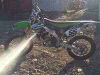 KXF 250 F 2014 5-6 hours riding time only like new £3500