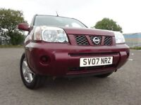 07 NISSAN X-TRAIL SE DCI DIESEL 2.2 4X4,MOT JAN 019,3 OWNERS FROM NEW,FULL HISTORY,LOVELY EXAMPLE