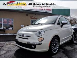 2013 Fiat 500C Lounge CONVERTIBLE! LEATHER!