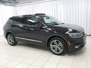 2018 Volkswagen Tiguan BEAUTIFUL!! HIGHLINE R-LINE TSI 4MOTION A