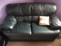 Leather Sofa 2 Seater in good condition
