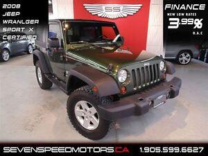 2008 Jeep Wrangler X|$127 BW|1YR FREE WARRANTY
