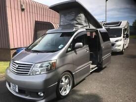 Toyota Alphard Camper Van for sale