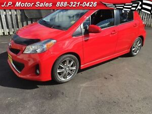 2012 Toyota Yaris SE, Manual