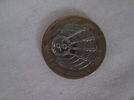 £2 - pound marcoi's 1st wireless transmission 2001 coin