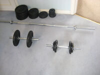 Weight Bars and Weights