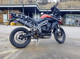 Triumph Tiger 800 XC, Excellent condition with lots of extras and ready to ride