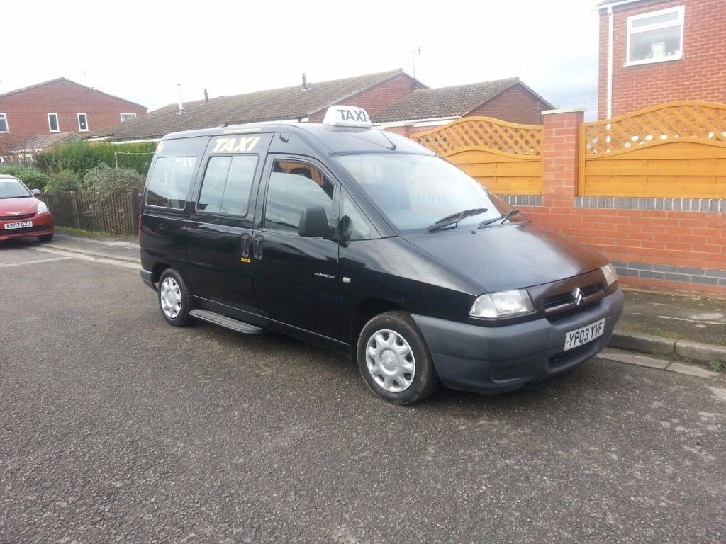 2003 citroen dispatch peugeot expert e7 hackney taxi. Black Bedroom Furniture Sets. Home Design Ideas