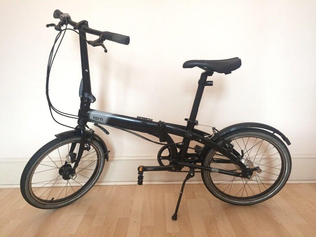 tern link d7i  Tern Link D7i folding / foldable bike / bicycle - like Dahon / Brompton ...