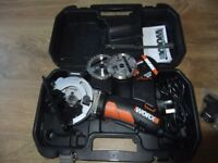 Worxsaw, compact circular saw with laser