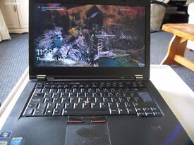 Used Lenova T420i Laptop complete with new cordless mouse and new spare battery