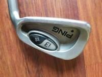 Ping i3+ 4-sw black dot regular shaft irons