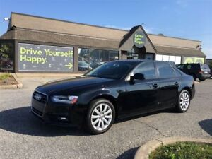 2013 Audi A4 2.0T QUATTRO / SUNROOF / LEATHER / POWER SEATS