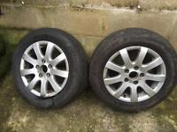 VW GOLF ALLOYS BARGAIN 5x112 - 195/65/15 Tyre - cheap VW/Audi/Skoda/Seat