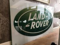 Land Rover sign - Acrylic (large) - man cave