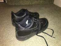 Nike Air Force black size 9