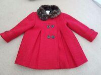 Girls Monsoon coat 2-3 years