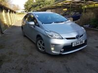 TOYOTA PRIUS NEW SHAPE ONE OWNER FROM NEW FULL TOYOTA HISTORY LEATHER SEATS UBER READY UK MODEL CAR