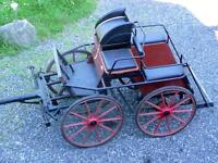 Carriage combined driving - marathon cart