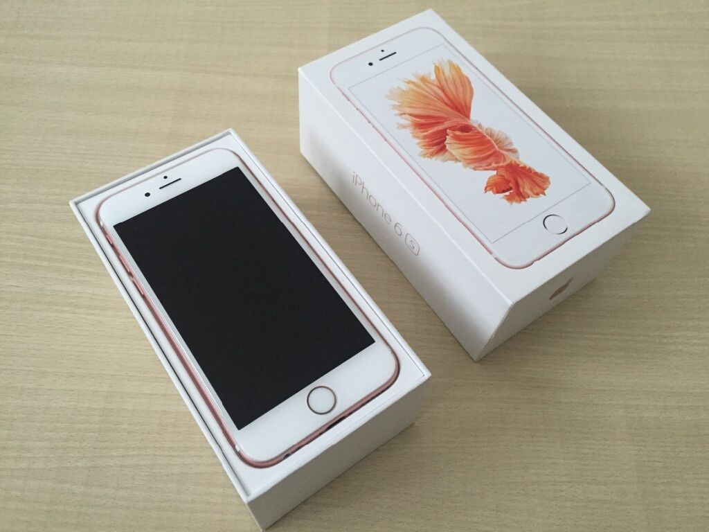 iphone 6s rose gold 16gb 6 plus 16gb gold in mile end london gumtree. Black Bedroom Furniture Sets. Home Design Ideas