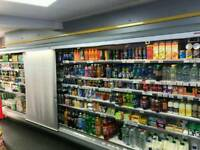 Open chiller fridges - Only 18months old x2