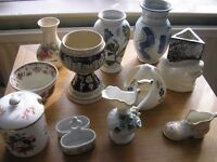 A collectable selection of ceramic items.