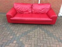 stylish leather sofa delivery available
